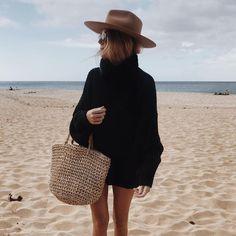 cozy beach sweaters