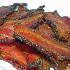 Forever...bacon will have my heart! Bacon for the Family or a Crowd - Allrecipes.com
