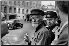 SOVIET UNION. Russia. Moscow. 1954. by Henri Cartier-Bresson