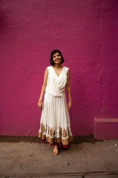 Images by Prutha Raithatha Dress: Priyanka Karunakar; Shoes: Malaga Bumped into Kanika outside the Tasting Room in Bombay. Street Chic, Street Fashion, Fashion Fashion, Street Style India, Mumbai, Indian Fashion, Me Too Shoes, Desi, Boho Chic