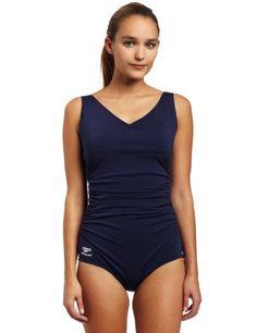 9910de8eaa1d Speedo Women s Endurance Plus Side Shirred Tank Swimsuit Best Swimsuits