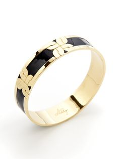 Gold & Enamel Bangle by Milly on Gilt.com