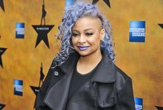 Pin for Later: Kesha's Blue Mermaid Mane and More Celebrity Rainbow Hairstyles Raven-Symoné The star showed off a bold lilac style at the opening night of Broadway's Hamilton. She even matched her makeup to her new hue!