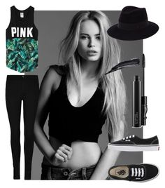 """""""Black :)"""" by style0000 ❤ liked on Polyvore featuring KAROLINA, Victoria's Secret, Vans, Maison Michel, Tom Ford, MAC Cosmetics, women's clothing, women, female and woman"""