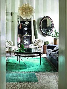 Koti Yhdysvalloissa   A Home In USA  Maisema Arkkitehdin/sisustussuunnittelijan Tunnelmallinen Koti On Täynnä