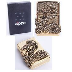 Zippo Skull Snake Coil Gold Lighter Made in USA GENUINE and ORIGINAL PackingZippo Skull Snake Coil Gold Lighter Made in USA GENUINE and ORIGINAL Packing *** Check out this great product.