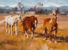 Curious by Lindsey Bittner Graham Oil ~ 6 x 8