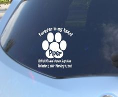 In Memory Stickers for Vehicles sheltie dog   In Memory Vinyl Banner Vinyl Sticker Car Decal by blakdogs