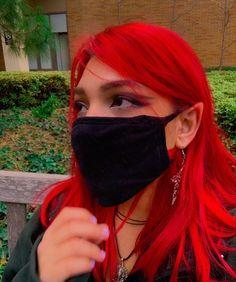 red fairy hair