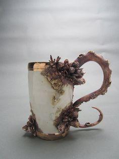 Bottom Feeder Cup One by MaryOMalleyCeramics on Etsy, $600.00