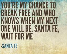 """Santa Fe"" Newsies lyrics."