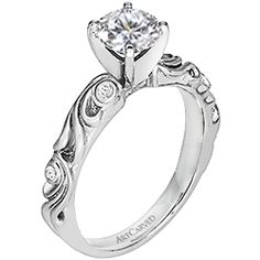 Another year, another trend! Last year it was a cluster of diamonds to give the illusion of one huge rock, and just a few years back everyone was crazy about princess cut…here are the engagem…