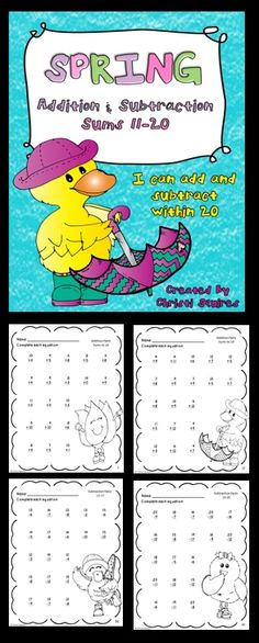 Subtraction Worksheets » Free Addition And Subtraction Worksheets To ...