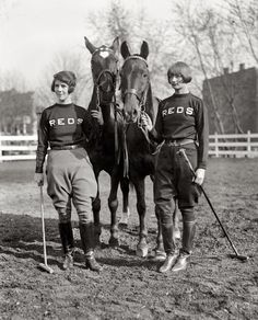 Women polo players at Cornell