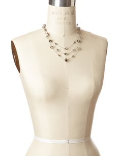 Jewelry for Bridesmaids: Short Rondell Necklace: The Limited