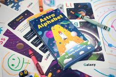 Astro Alphabet is now available on Kickstarter! Space themed flashcards for kids aged 3-10!