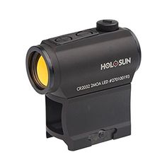 HOLOSUN HS403A Micro Red Dot Sight (2 MOA)  50,000 hours of battery life (that's over 5 years of continuous use) Motion awake with 8 hour auto shutoffParallax-free; when the red dot is on the target, so are youHigh quality clear lens with crisp, bright red dot  http://outdoorgear.mobi/product/holosun-hs403a-micro-red-dot-sight-2-moa/