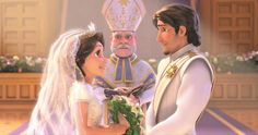 """I got Tangled! """"You are a cheerful and outgoing person. Your wedding would be filled with laughter and love, as well as a lot of light. Don't forget the lanterns!"""" Which Disney Wedding Should You Have? 