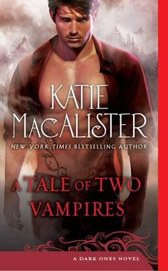 Best Male Cover Nominee - A Tale of Two Vampires by Katie MacAlister - Cover by Gene Mollica