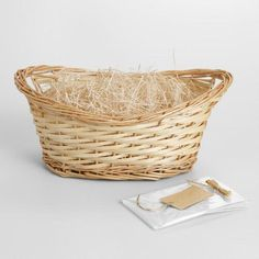 One of my favorite discoveries at WorldMarket.com: Natural Gift Basket Kit