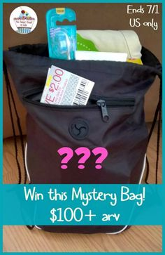 #Win a Mystery Bag filled with fun things ($100+ value)!
