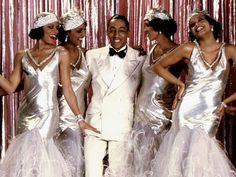 Clip from Cotton Club by Francis Frod Coppola. Costume design by Milena Canonero Harlem Renaissance Fashion, Renaissance Mode, Renaissance Wedding, The Cotton Club, Harlem Nights Theme, Gregory Hines, Black Dancers, Gatsby Wedding, Jazz Wedding