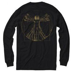 Magenta Da Vinci long sleeve black/gold back