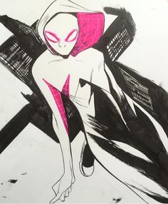 Spider-Gwen by Robbi Rodriguez *