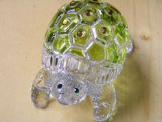 Lenox Full Lead Crystal Turtle Candy Storage Dish Removable Lid Made in Germany | eBay
