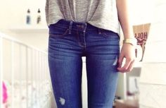 Thingh Gap 💕 discovered by Jooana on We Heart It Fitness Diet, Health Fitness, Hip Workout, Sexy Jeans, Diet Motivation, Girls Jeans, Health Diet, Excercise, Denim Fashion