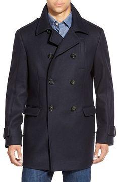 5d6e9415e31  495 - Rodd  amp  Gunn  Gilbert  Tailored Fit Italian Wool Blend City Coat