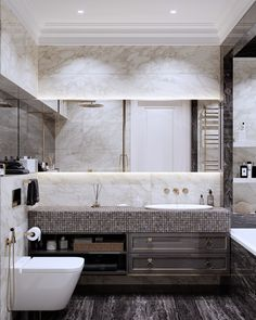 Double Vanity, Sweet Home, New Homes, Bathtub, Interior Design, Luxury, House, Bathrooms, Home Decor