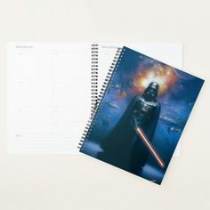 Darth Vader Imperial Forces Illustration Planner #imperial #star #destroyer #imperial #tie #Planner