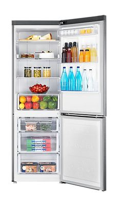Buy Samsung Freestanding Fridge Freezer - Inox from Appliances Direct - the UK's leading online appliance specialist