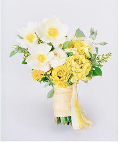 Yellow Wedding Flower Bouquet