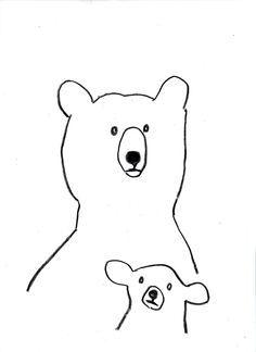 Fresh Pencil Drawings Of Bears Bear Drawing, Bear Art, Children's Book Illustration, Cute Art, Pencil Drawings, Illustrations Posters, Screen Printing, Character Design, Prints