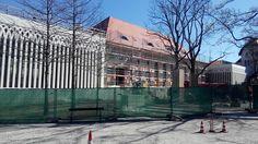Kongresshalle am Zoo mit Neu- bzw. Anbau. Aufgenommen aus dem #Zoo #Leipzig/Gründergarten.  Wiedereröffnung geplant für demnächst irgendwann...