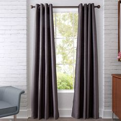 Dot Chevron Curtain Panel