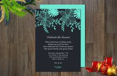Holiday Non-Photo Invitation. Invitation Templates. $6.00