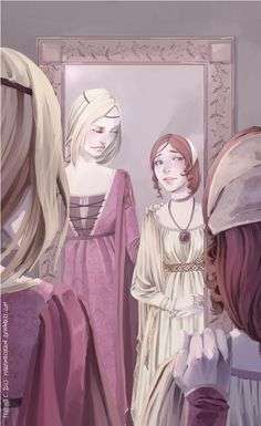 'the gods have been kind to you, Sansa' by *martinacecilia on deviantART