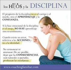 Los hijos y la disciplina
