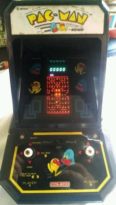 "Coleco Pac-Man (Midway) Tabletop Arcade - Works Great! Vintage ""Handheld"" PACMAN #Coleco"