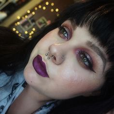 Lipstick: Milani Cosmetics Raving Matte metallic liquid lipstick