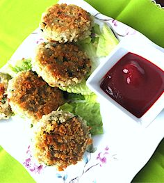 Indian Spiced Quinoa Patties/Cutlets