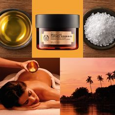 Body Shop Spa of the world Brazilian Cupuacu scrub in oil Body Shop At Home, The Body Shop, Skin So Soft, Smooth Skin, Best Body Shop Products, Body Shop Skincare, Cupuacu, Body Spa, Body Treatments