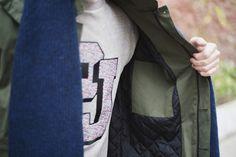 Sweat Paul & Joe #mode #look #jimmy #commeuncamion #sweat #paulandjoe #fashion #mensfashion #fashionformen #menswear
