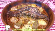 Recetas de cocina con sabor tradicional: Receta de Costillas de cerdo adobadas al Horno