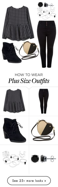 """""""Untitled #907"""" by twilsm on Polyvore featuring mode, MANGO, Clarks en BERRICLE"""