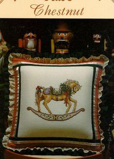Cross Stitch Vintage Rocking Horse Pattern by HermionesCloset