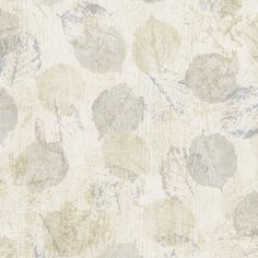 Beige and Grey Leaves